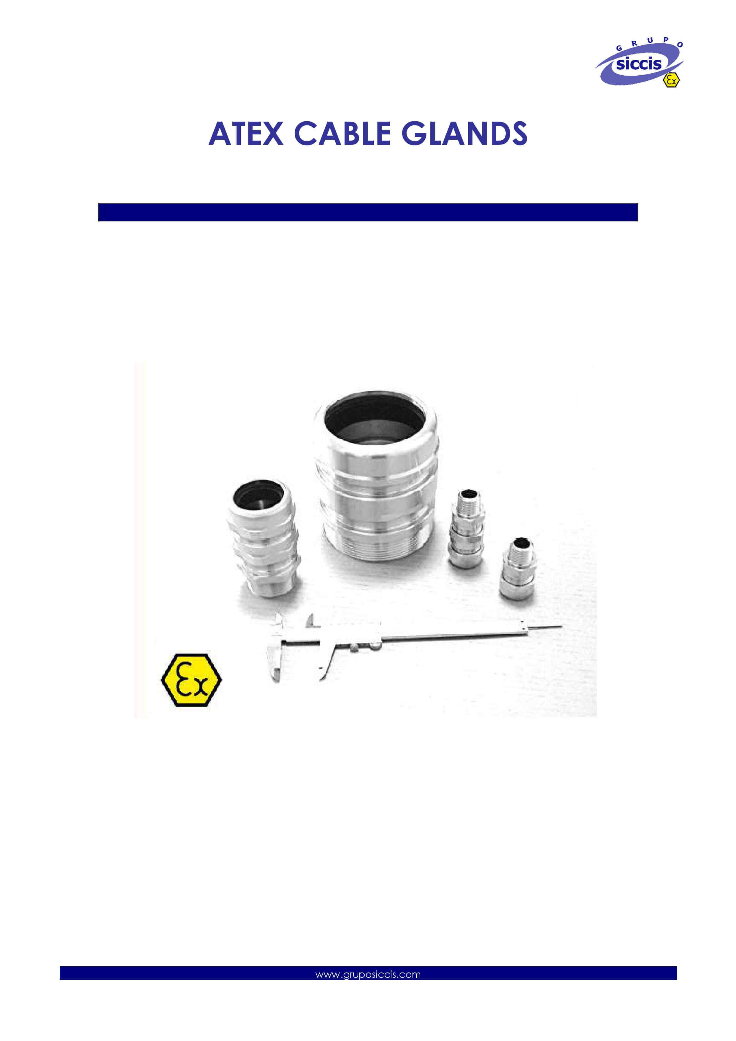 Atex Cable Glands Catalog