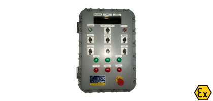 ATEX control stations