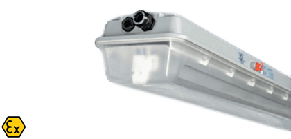 ATEX LED low energy luminaires