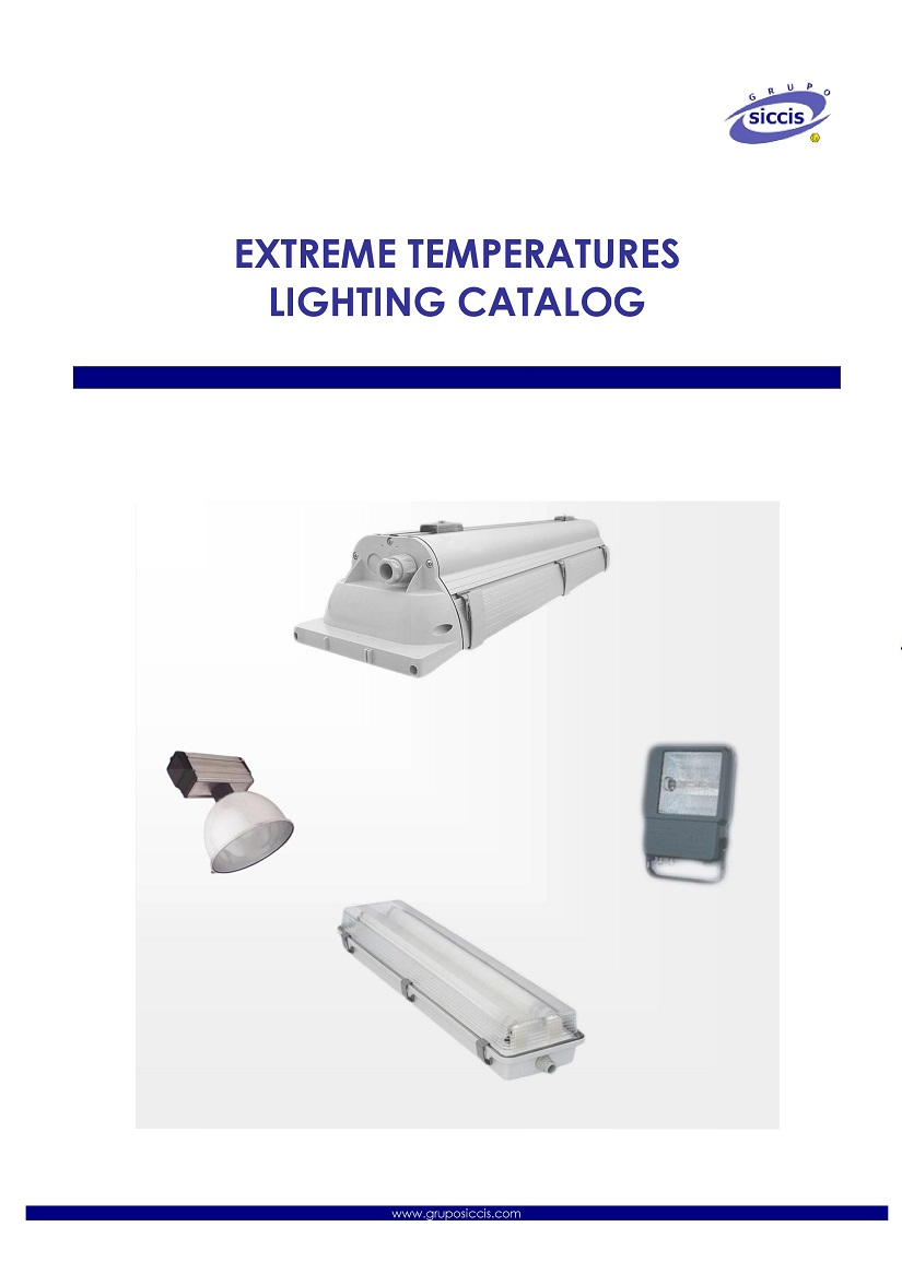 Extreme temperatures lighting catalog