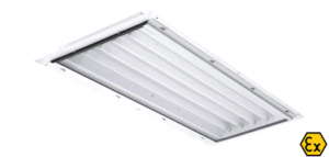 Luminarias empotrables estándar y emergencia ATEX