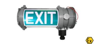 Luminarias emergencia LED bajo consumo ATEX