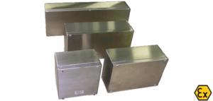 Cajas de derivación, control y envolventes ATEX