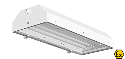 ATEX standard and emergency recessed luminaires