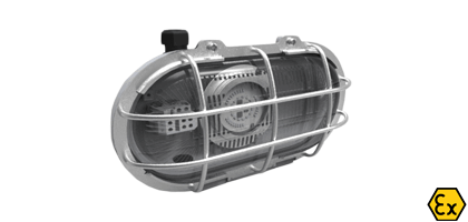 ATEX LED Bulkhead Light Fitting