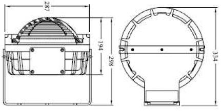 ATEX bulkhead dimensions