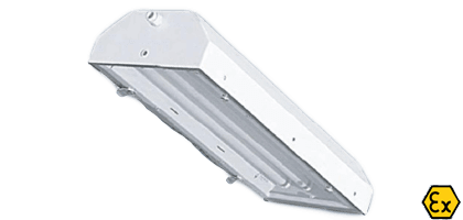 ATEX recessed emergency luminaires
