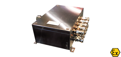 ATEX stainless steel junction boxes