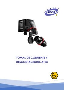 Catálogo de tomas de corriente ATEX