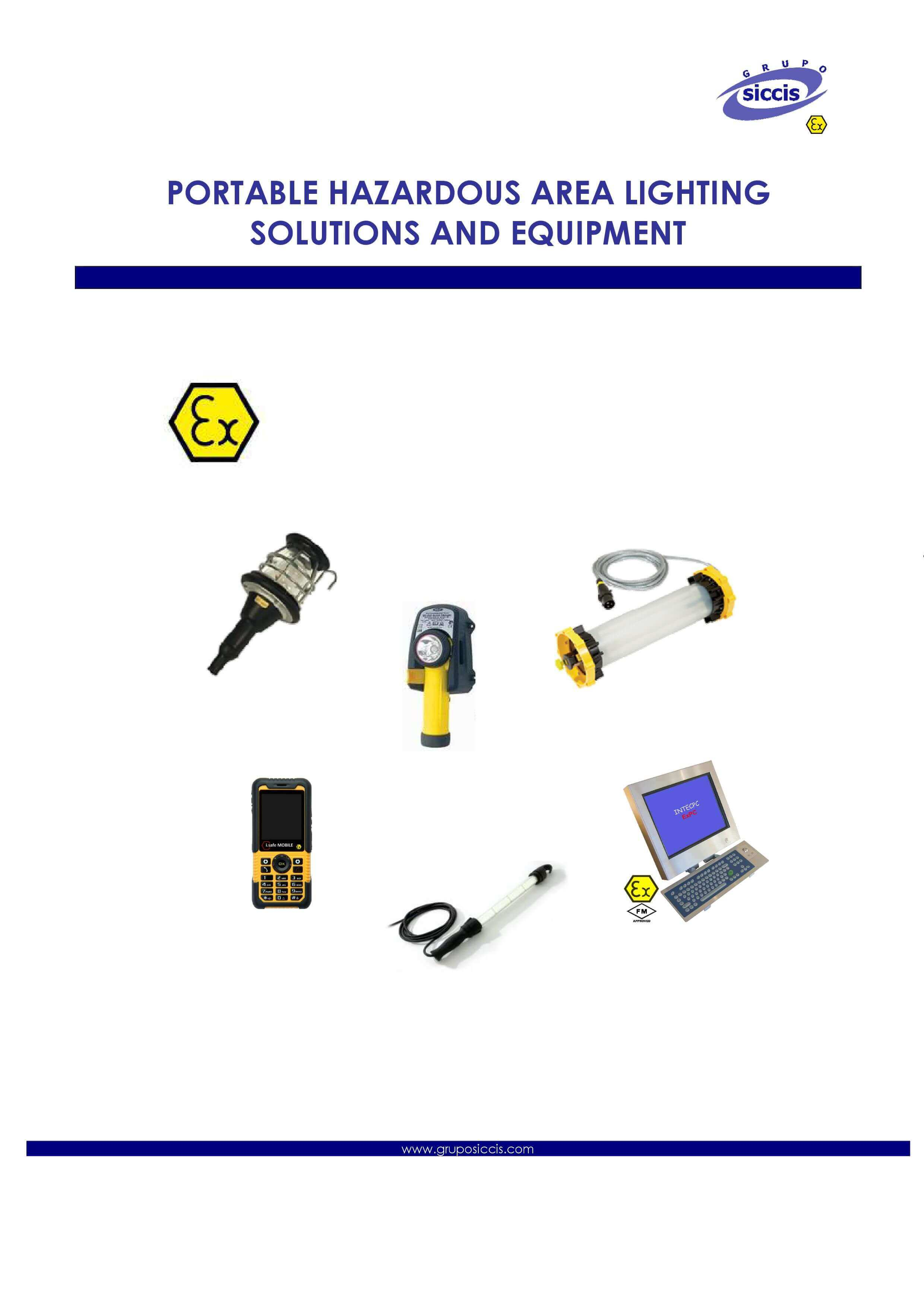 ATEX Portable Lighting Catalog