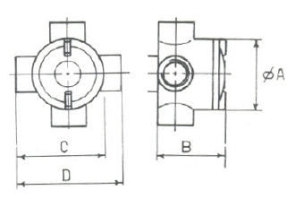 ATEX junction boxes dimensions
