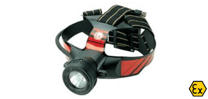 ATEX rechargeable headtorch
