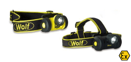 Headtorch LED ATEX