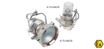ATEX portable spotlights