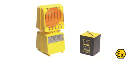 ATEX warning lamp