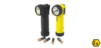ATEX LED torches with batteries TR-40