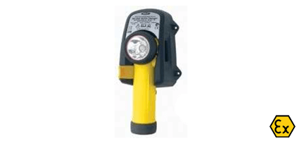 ATEX rechargeable LED torch