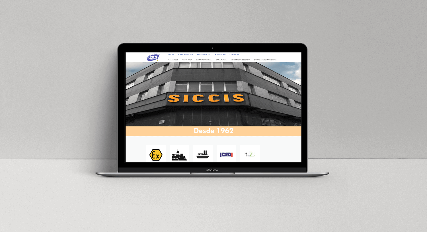 New Siccis website