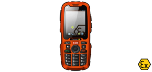 Teléfono móvil ATEX IS320