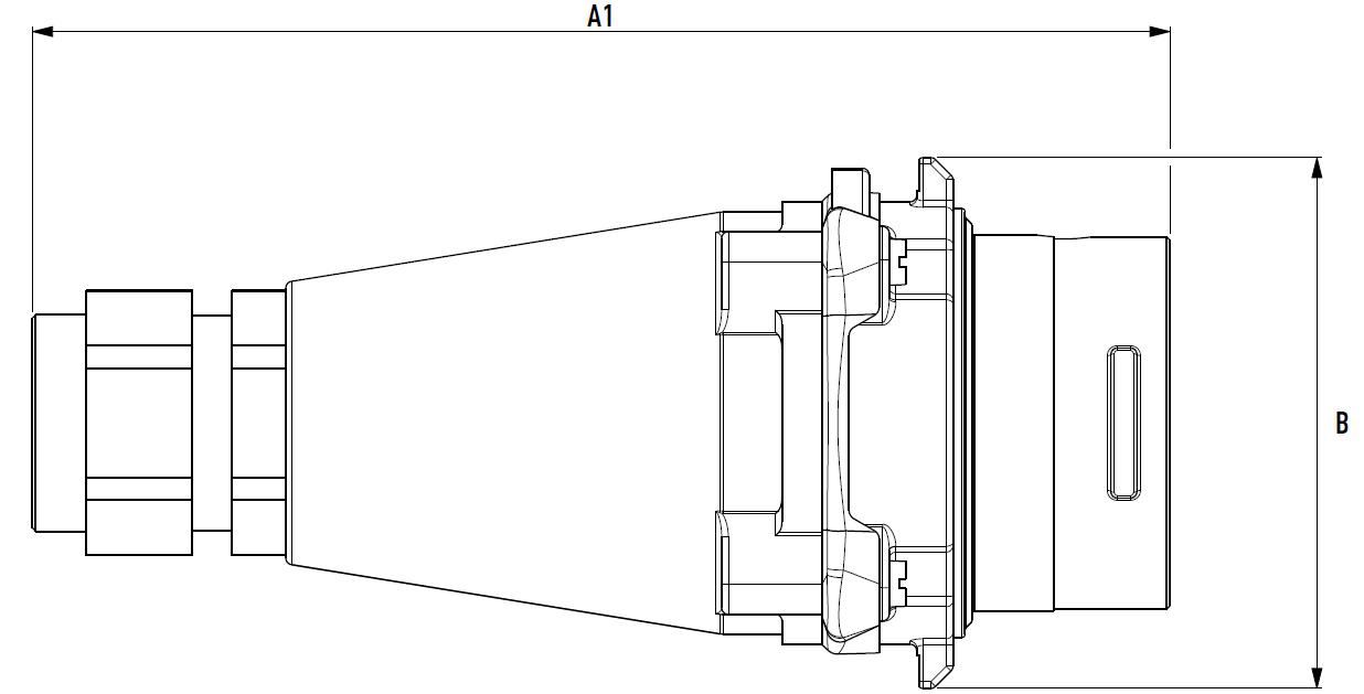 Dimensiones DXA1