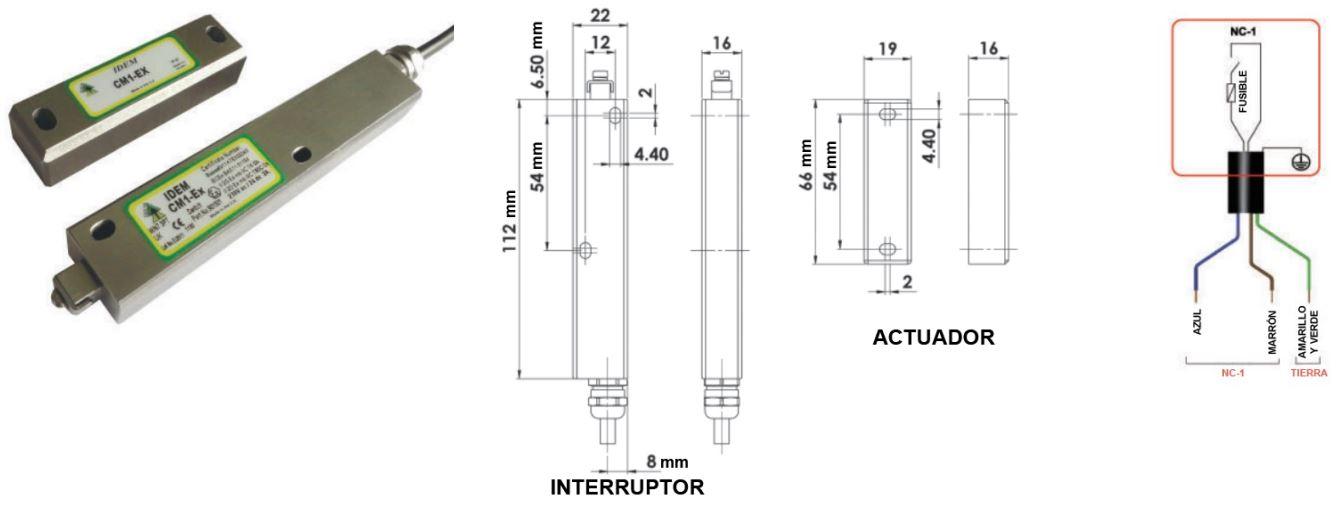 Interruptor de proximidad ATEX