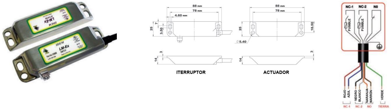 Interruptores de proximidad ATEX LM-Ex