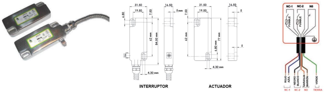 Interruptores de proximidad WM1-Ex