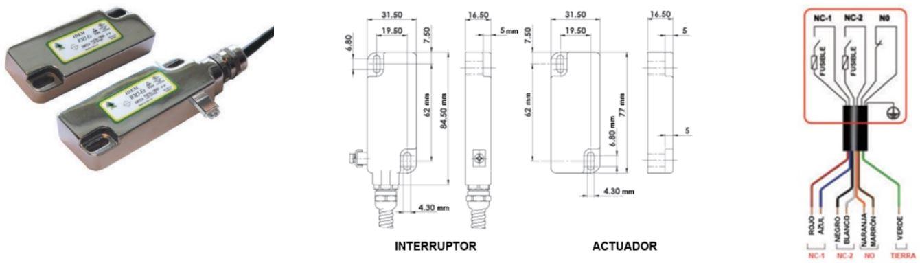 Interruptores de proximidad WM2-Ex