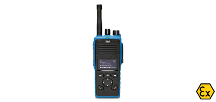 Walkie Talkies ATEX con pantalla